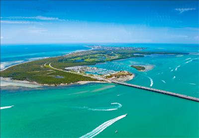 Vista Aérea de Key Biscayne