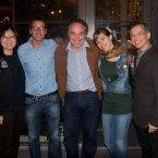 Jennie Bev, Xavier Verdaguer, Ricardo Bellino e Rosa Monge